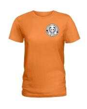 Falcon Archers Retro Logo 2 Ladies T-Shirt front