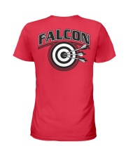 Falcon Archers Retro Logo 2 Ladies T-Shirt back