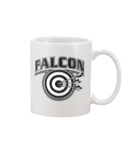 Falcon Archers Retro Logo 2 Mug tile