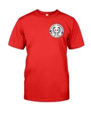 Falcon Archers Retro Logo 1 Premium Fit Mens Tee front