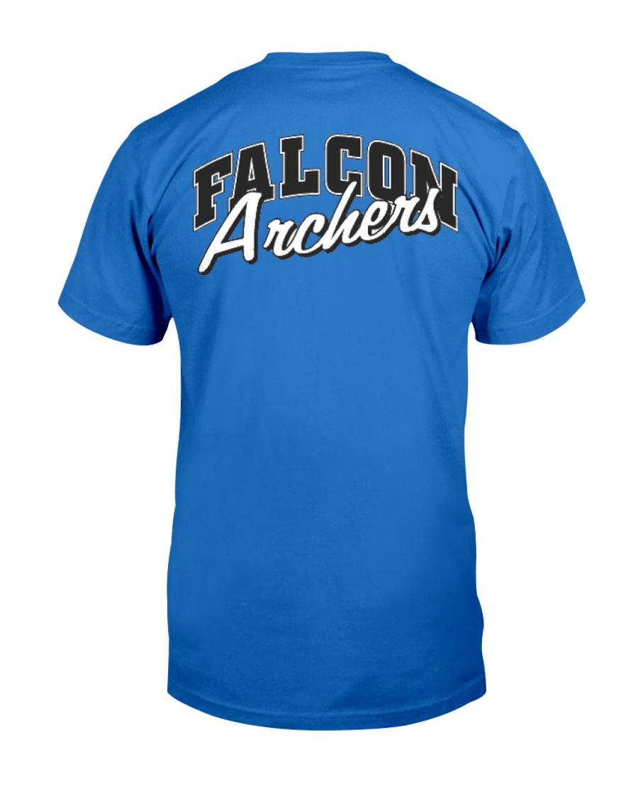 Falcon Archers Retro Logo 1 Premium Fit Mens Tee