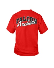 Falcon Archers Retro Logo 1 Youth T-Shirt back