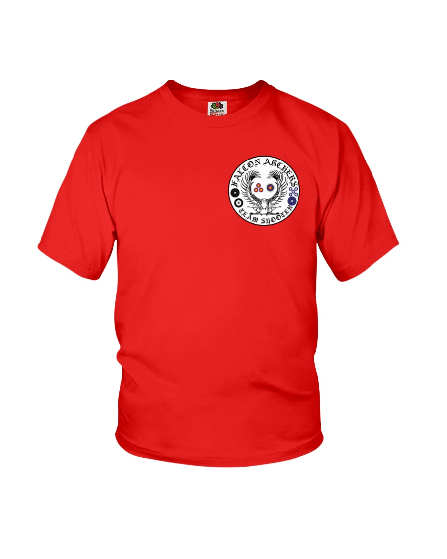 Falcon Archers Retro Logo 1 Youth T-Shirt