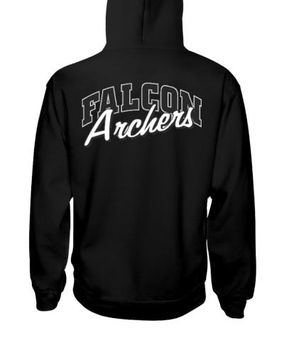 Falcon Archers Retro Logo 1