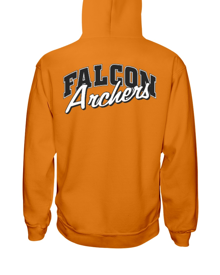 Falcon Archers Retro Logo 1 Hooded Sweatshirt