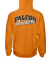 Falcon Archers Retro Logo 1 Hooded Sweatshirt back