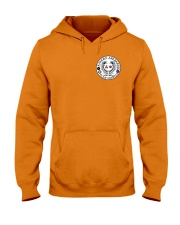 Falcon Archers Retro Logo 1 Hooded Sweatshirt front