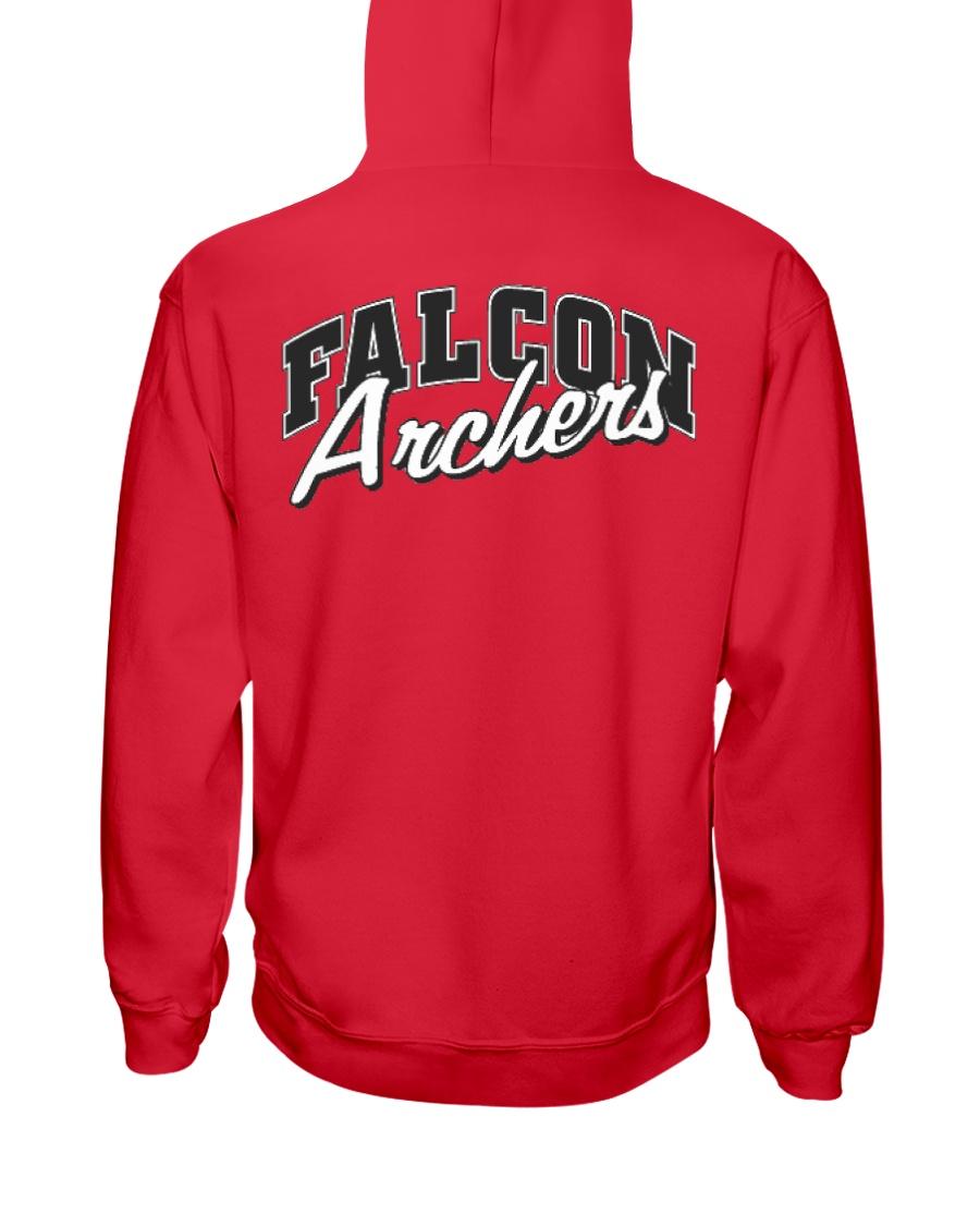 Falcon Archers Retro Logo 1 Hooded Sweatshirt
