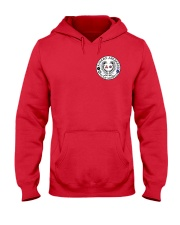 Falcon Archers Retro Logo 1 Hooded Sweatshirt front