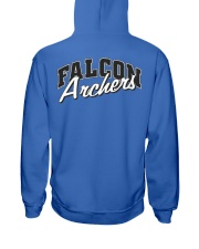 Falcon Archers Retro Logo 1 Hooded Sweatshirt back