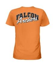 Falcon Archers Retro Logo 1 Ladies T-Shirt back