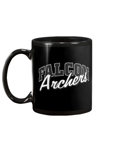 Falcon Archers Retro Logo 1