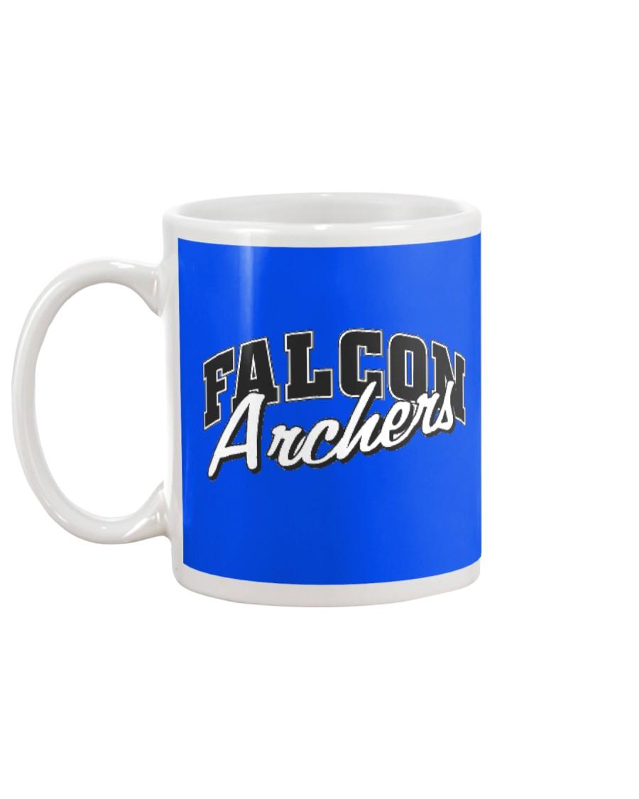 Falcon Archers Retro Logo 1 Mug