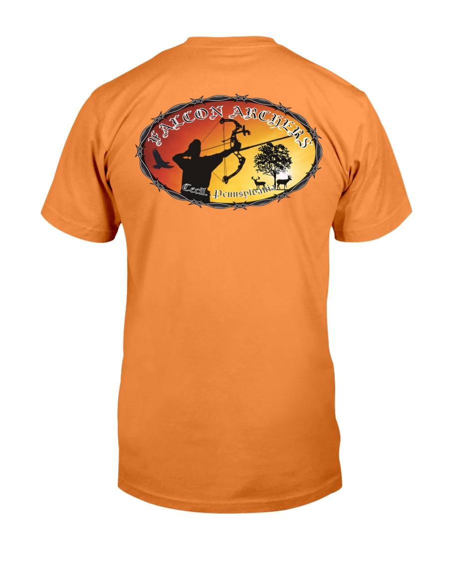 Falcon Archers New Logo 1 Premium Fit Mens Tee