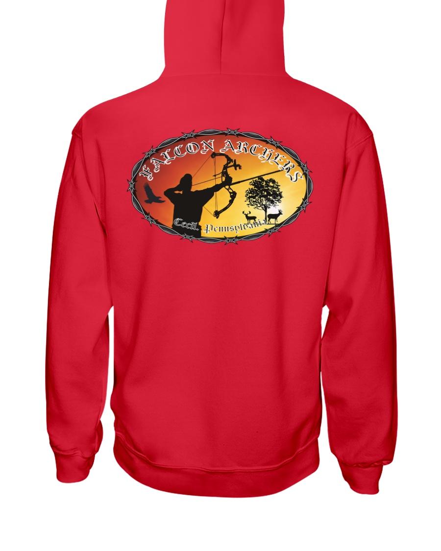 Falcon Archers New Logo 1 Hooded Sweatshirt