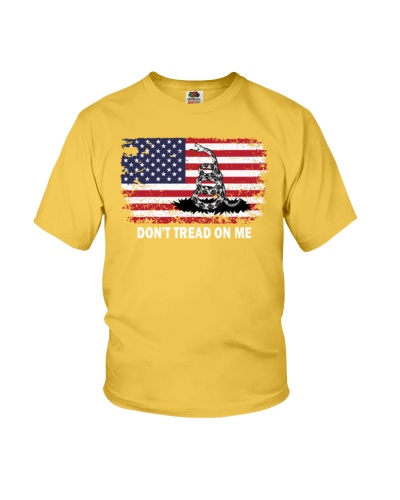 dont tread on me t shirt
