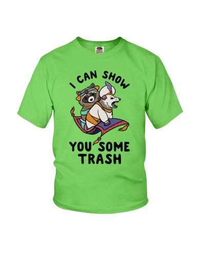 i can show you some trash hoodie