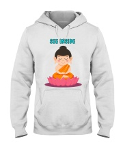 See Inside Buddha T-Shirt Peace in your Mind Hooded Sweatshirt thumbnail