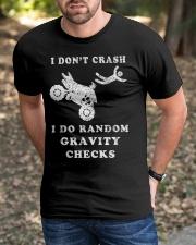 Crash Funny ATV Classic T-Shirt apparel-classic-tshirt-lifestyle-front-52