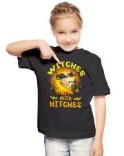 Witches with hitches shirt Youth T-Shirt lifestyle-youth-tshirt-front-2