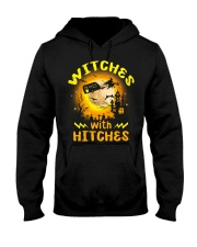 Witches with hitches shirt Hooded Sweatshirt thumbnail
