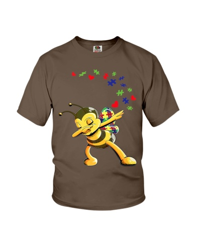 Autism Awareness Bee T Shirt Cute Puzzles