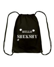 HELLO SHEKSHY Drawstring Bag thumbnail