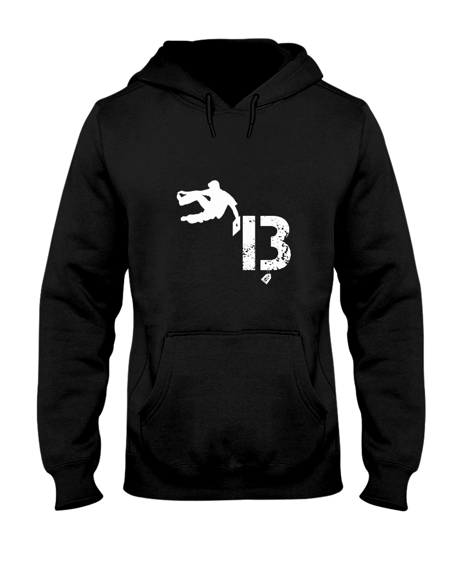 Parkour 13 Hooded Sweatshirt