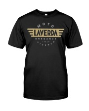 Laverda Vintage Motorcycles Italy Funny Tee shirts Classic T-Shirt front