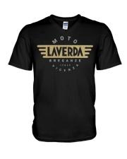 Laverda Vintage Motorcycles Italy Funny Tee shirts V-Neck T-Shirt thumbnail