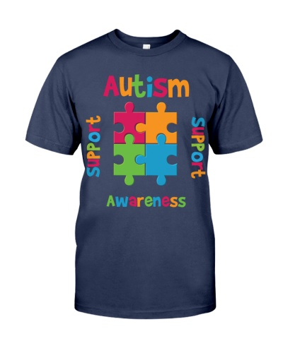 Autism Awareness - Support - Advocate - Love - Edu