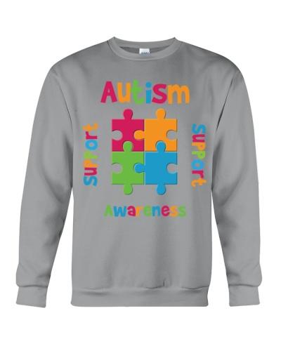 Autism Awareness - Support - Advocate - Love - Edu