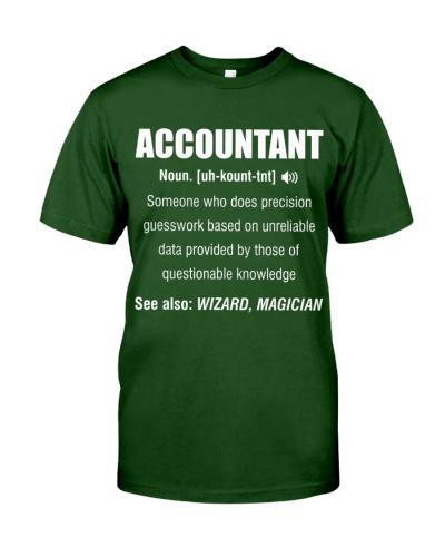 Funny Accountant T Shirt For Men Women
