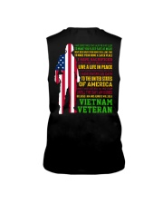 VETERAN I HAVE DONE THINGS THAT HAUNT ME  Sleeveless Tee thumbnail