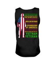 VETERAN I HAVE DONE THINGS THAT HAUNT ME  Unisex Tank tile
