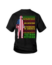 VETERAN I HAVE DONE THINGS THAT HAUNT ME  Youth T-Shirt thumbnail