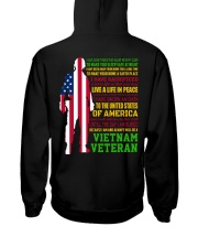 VETERAN I HAVE DONE THINGS THAT HAUNT ME  Hooded Sweatshirt thumbnail