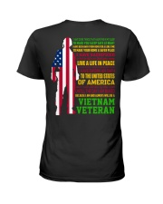 VETERAN I HAVE DONE THINGS THAT HAUNT ME  Ladies T-Shirt thumbnail