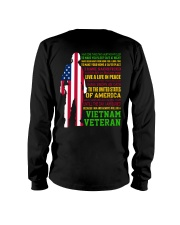 VETERAN I HAVE DONE THINGS THAT HAUNT ME  Long Sleeve Tee thumbnail