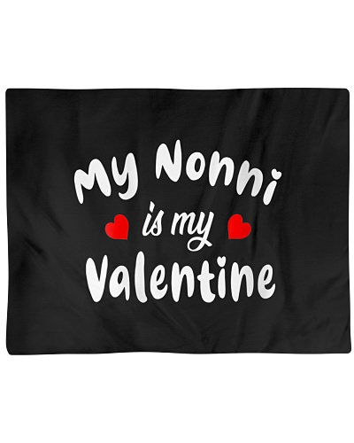 Womens My Nonni Is My Valentine Boys Girls