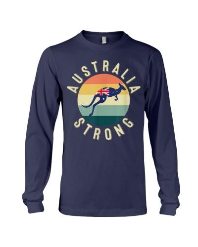 Australia Strong Kangaroo Retro Graphic