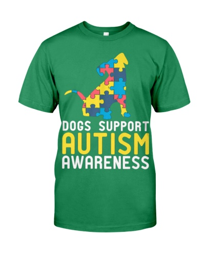 Dogs Support Autism Awareness