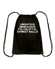 Donkey Balls Drawstring Bag thumbnail