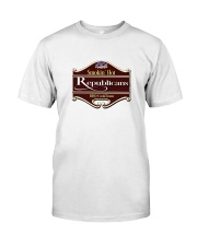 Smokin Hot Republicans BBQ Team Classic T-Shirt thumbnail