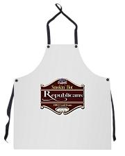 Smokin Hot Republicans BBQ Team Apron thumbnail