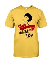 Still I Rise African-American Natural Hair Woman Classic T-Shirt thumbnail