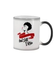 Still I Rise African-American Natural Hair Woman Color Changing Mug thumbnail