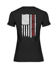 American Flag Papa Premium Fit Ladies Tee thumbnail
