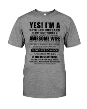 Yes I'm a Spoiled Husband Premium Fit Mens Tee thumbnail