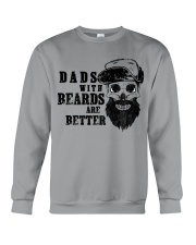 Dad with Beards are better new Crewneck Sweatshirt thumbnail